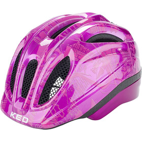 KED Meggy Trend Kask rowerowy Dzieci, violet pink